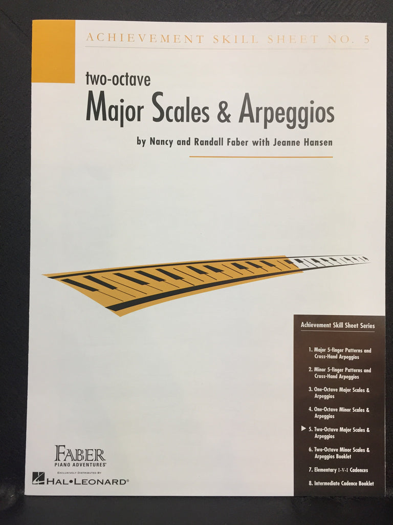 Two-Octave Major Scales & Arpeggios No.5