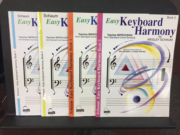 Schaum Easy Keyboard Harmony