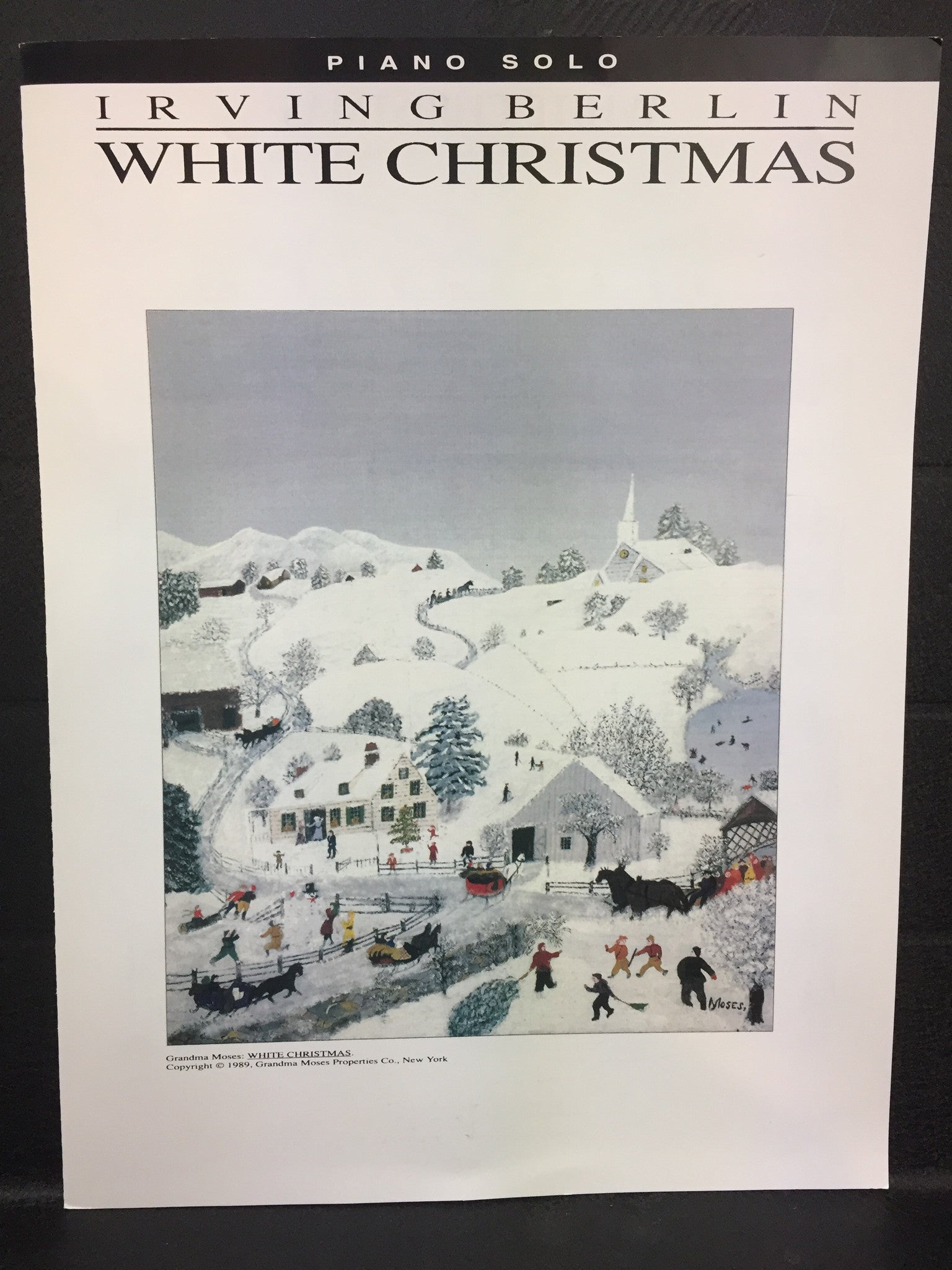 Irving Berlin White christmas Piano Solo - Wadsworth Music