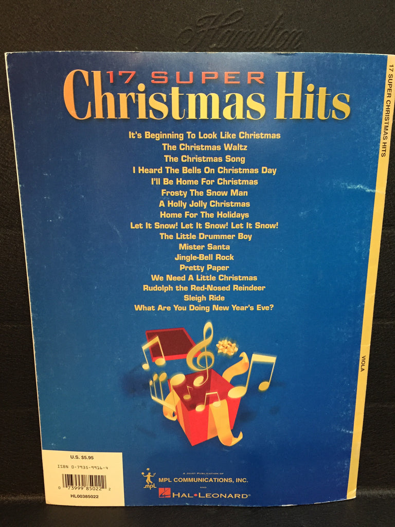 17 Super Christmas Hits Viola