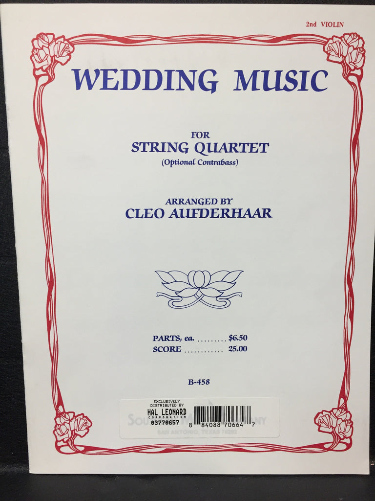 Wedding Music For String Quartet
