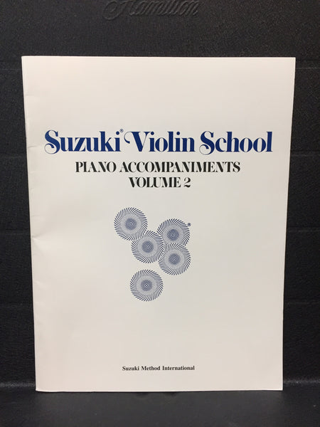 Suzuki Violin School Piano Accompaniments vol 2