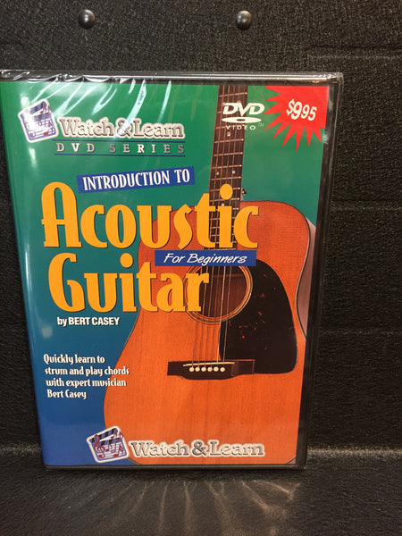 Watch & Learn Intro to Acoustic Guitar