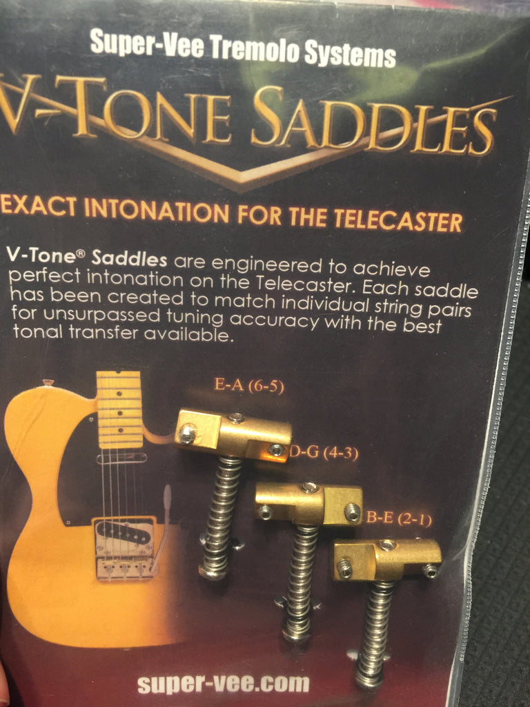 Super-Vee V-Tone Saddles