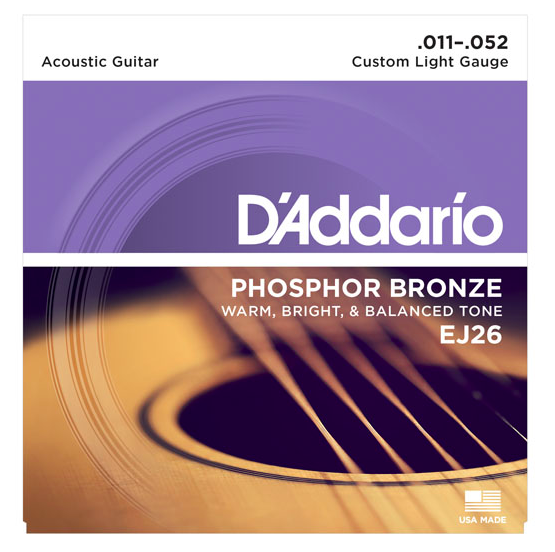 D'Addario Phosphor Bronze Strings
