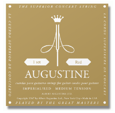 Augustine Imperial Red Mt Classical Guitar Strings
