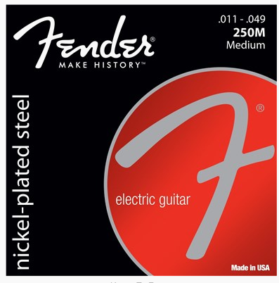 Fender Super 250's Nickel-Plated Electric Guitar Steel Strings