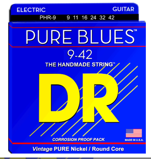 DR Pure Blues Electric Guitar Strings
