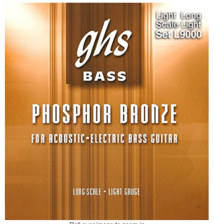GHS Bass Phosphor Bronze for Acoustic-Electric Bass Guitar