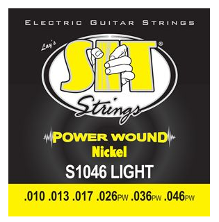 SIT Power Wound Electric Guitar Strings