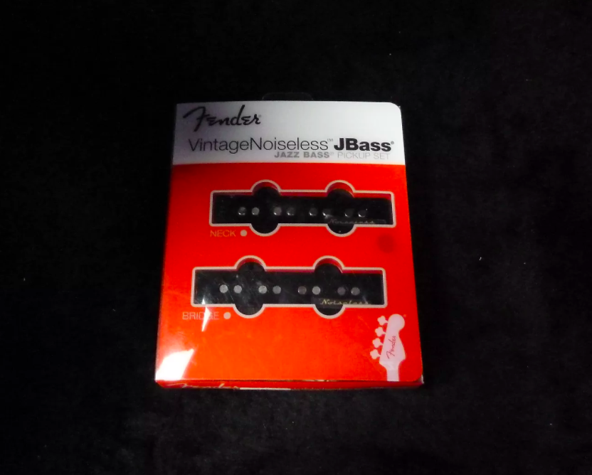 Fender Vintage Noiseless J Bass Pickups