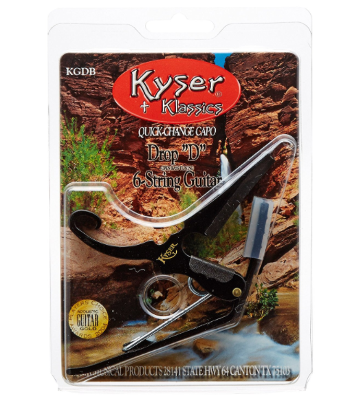 Kyser Drop D Capo Black