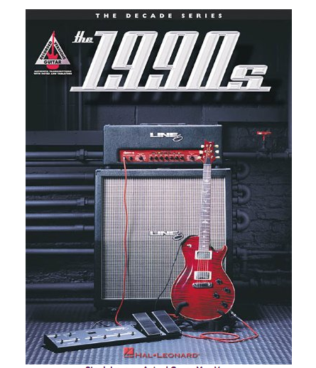 Hal Leonard The 1990's The Decade Series