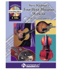 Hal Leonard Steve Kaufman's Four-Hour Bluegrass Workout For All Instruments