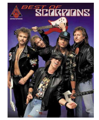 Hal Leonard Best Of Scorpions