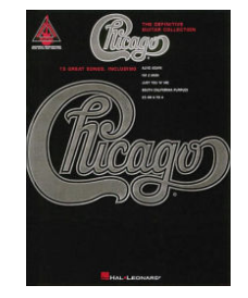 Hal Leonard Chicago The Definitive Guitar Collection