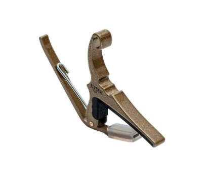 Kyser Quick-Change Capo 6-String Gold Gold