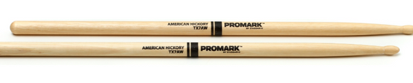 ProMark TX7AW 7A Wood Tip Hickory Drumsticks