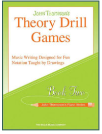 John Thompson's Theory Drill Games Set 2