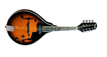 Fender FM-52E Acoustic-Electric Mandolin, Sunburst