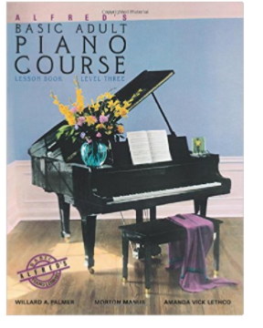 Alfred's Basic Adult Piano Course lesson Book Level 3