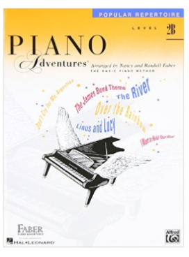 Piano Adventures Level 2B