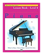 Alfred's Basic Piano Library Level 4
