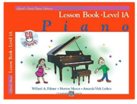 Alfreds Basic Piano Library Level 1A