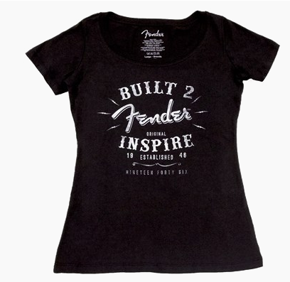 Fender® Ladies Inspire T-Shirt Medium