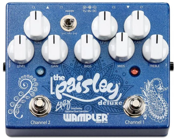 Wampler Paisley Drive Deluxe Overdrive Pedal