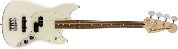Fender Mustang® Bass PJ Olympic White