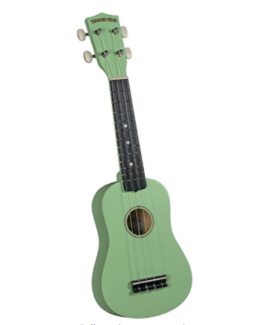 Diamond Head DU-125 Tropical Satin Series Soprano Ukulele - Peppermint Green