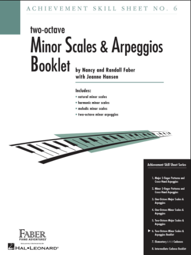 Minor Scales and Arpeggios Booklet
