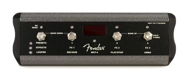 Fender MGT-4 4-button Mustang GT Footswitch