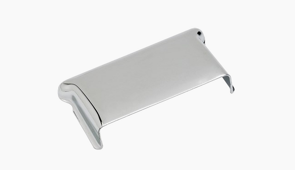 Fender PURE VINTAGE STRATOCASTER® BRIDGE COVER, Chrome
