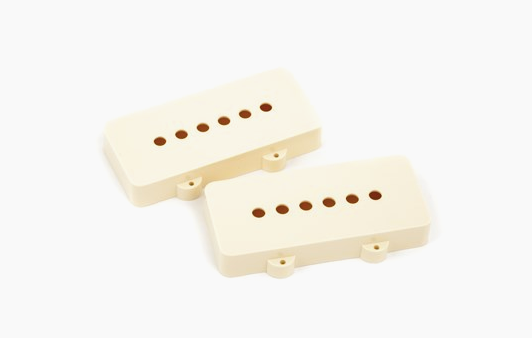 Jazzmaster® Pickup Covers Aged White