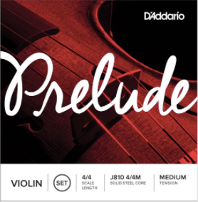 Prelude Violin Medium Tension String Set 4/4