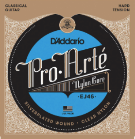 D'Addario Pro-Arte Nylon Core Hard Tension EJ46