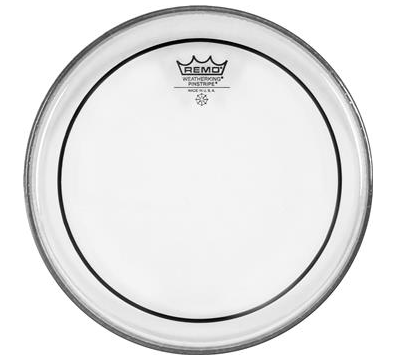 "Remo 18"" Pinstripe Clear Drumhead"