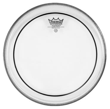"Remo 16"" Pinstripe Clear Drumhead"