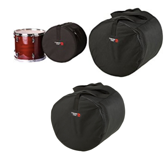 Gator Cases GP-1616 Standard Series Padded Tom Bag, 16x16""
