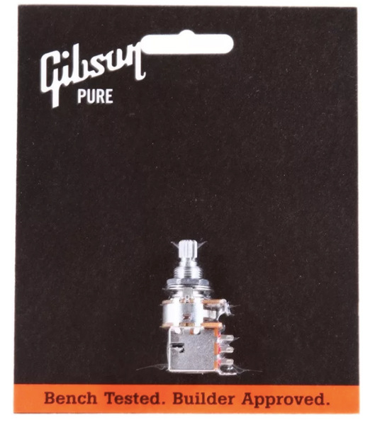 Gibson Accessories 500k Ohm Audio Taper Potentiometer - Push-Pull / Short Shaft