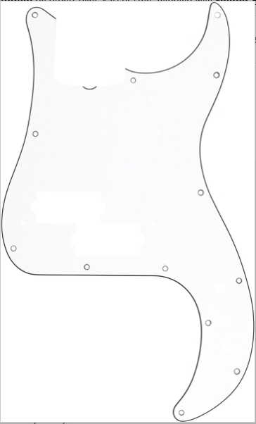 Fender 13-Hole '60S Precision Bass® Pick Guard