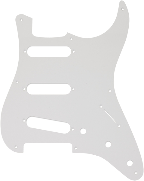Fender 8-Hole '50s Stratocaster® S/S/S Pick Guard  White 1-Ply