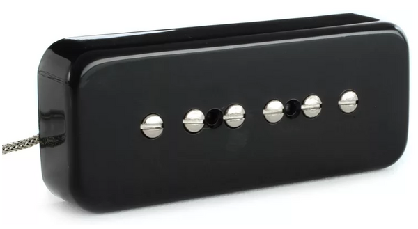 Gibson Accessories P-90 Soapbar Pickup - Black, Neck or Bridge, 2-Conductor