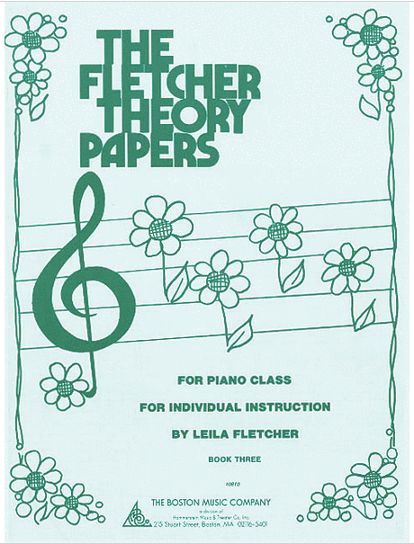 The Fletcher Theory Papers Book 3