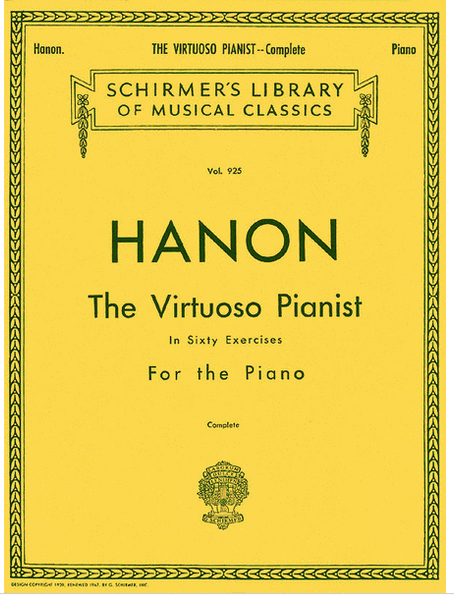 Hanon The Virtuoso Pianist