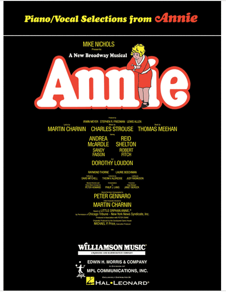 Piano/Vocal Selections from Annie
