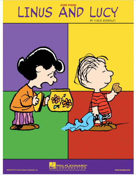 Linus and Lucy Easy Piano Solo