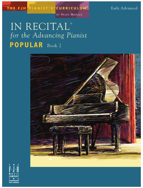 In Recital for the Advancing Pianist Popular Book 2